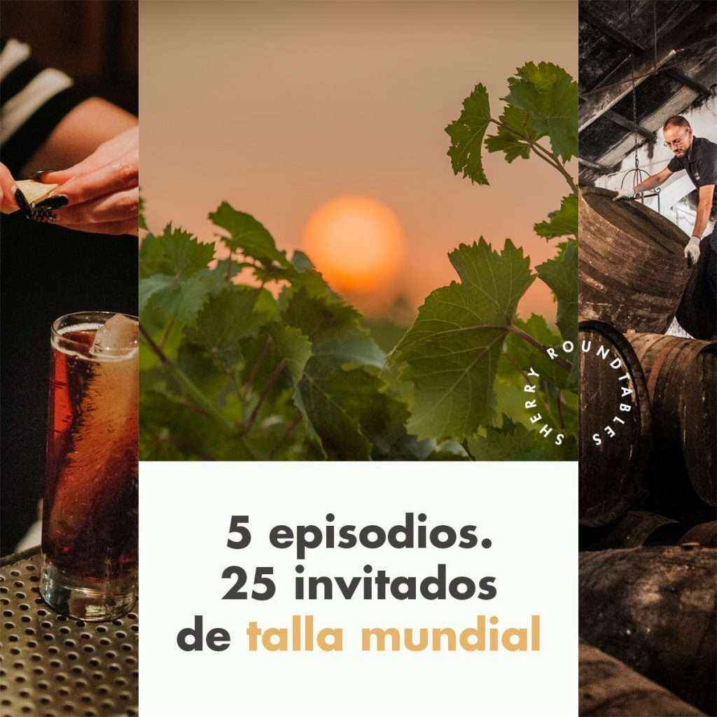 "Bodegas Lustau presenta ""The International Sherry Roundtables"""