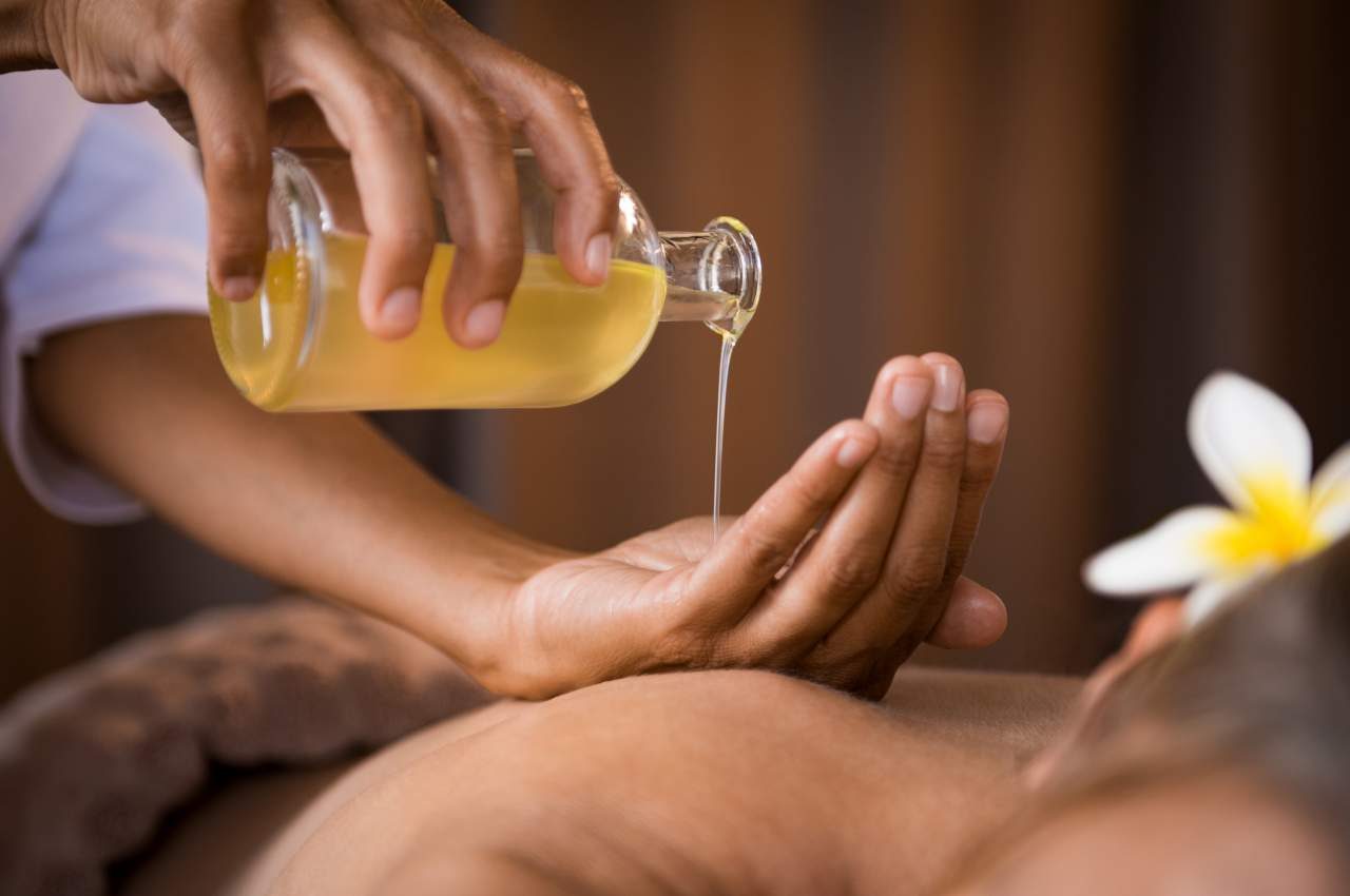The magic of Ayurveda medicine.  How does it help to overcome stress?
